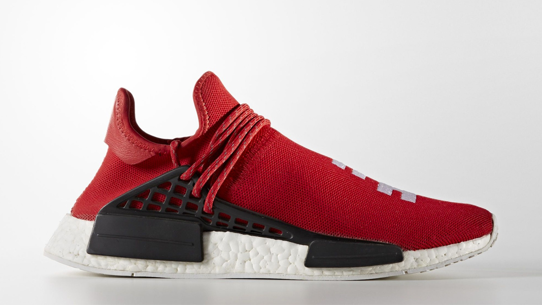 adidas HU NMD x Pharrell Williams Scarlet Sole Collector Release Date Roundup