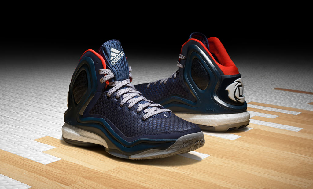 adidas D Rose 5 Woven Blues (1)