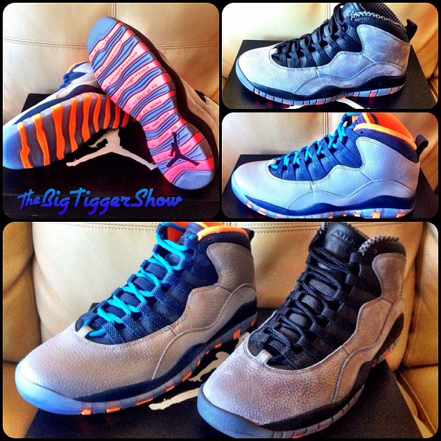 Big Tigger Picks Up Air Jordan 10 Bobcats, Cool Grey