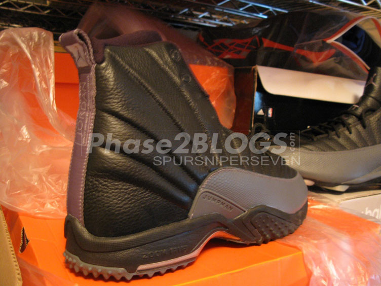 Warren Sapp's Air Jordan 12 XII Black Grey PE