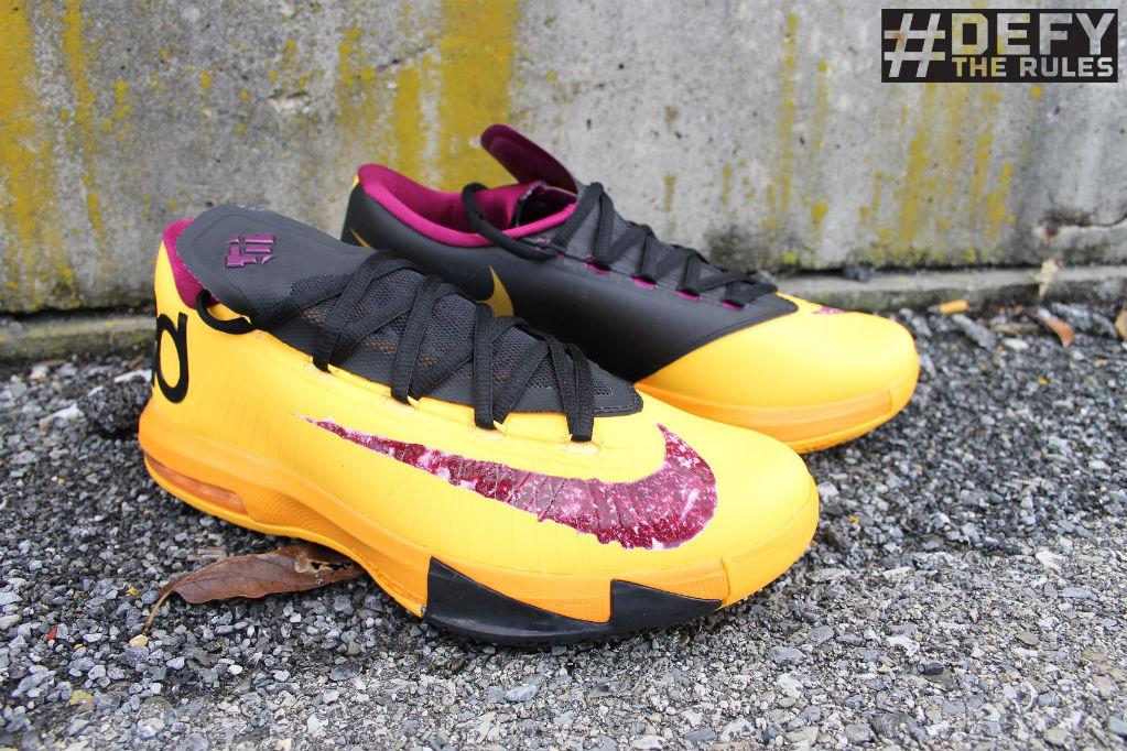 online retailer 3955f dc824 Nike KD 6 VI Peanut Butter   Jelly 599424-801 ...