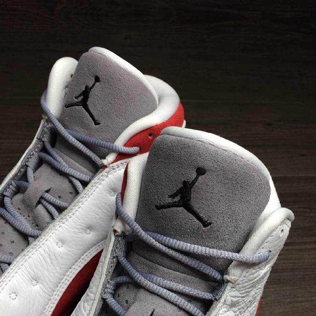 new styles 631f1 0036c Air Jordan XIII 13 Grey Toe (11)