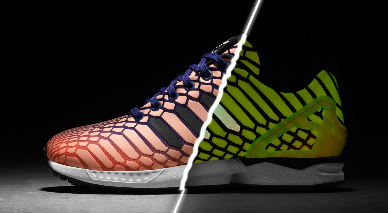 sports shoes a8b9c 20180 Adidas Lights Up All-Star Weekend With Glow in the Dark ...