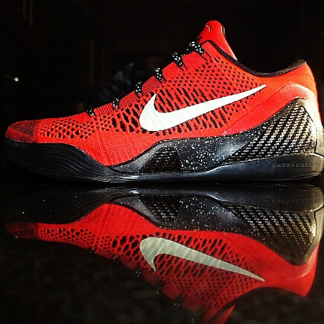 DJ Clark Kent Picks Up Nike Kobe IX 9 Elite Low University Red