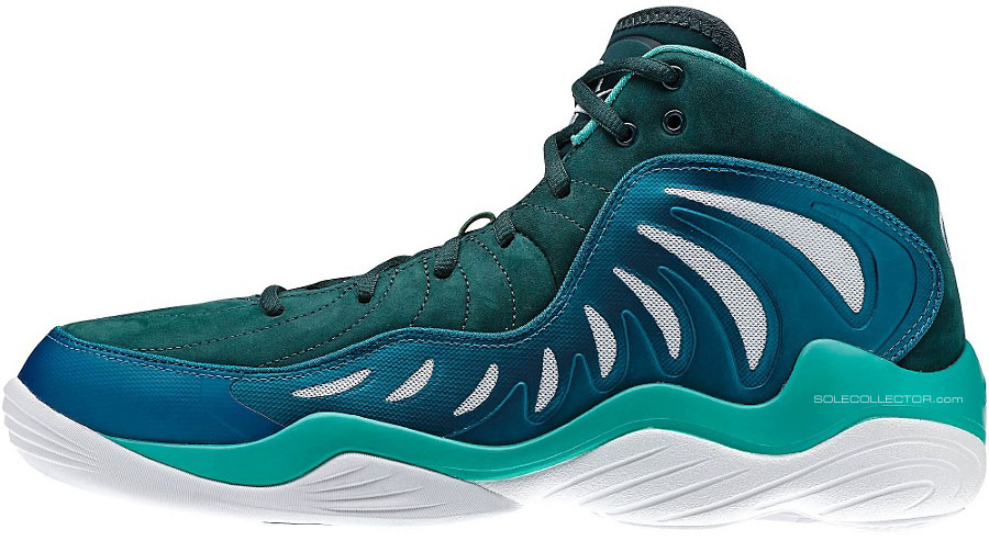 Reebok Answer XIV 14 Green.Blue (2)