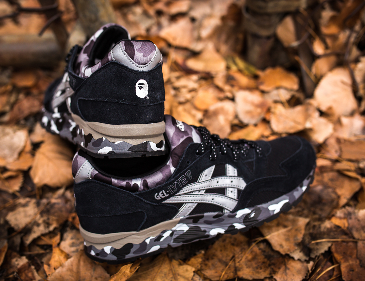 BAPE's Camouflage Asics Release This Weekend | Sole Collector