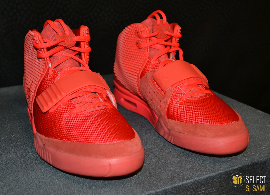 sports shoes 424bc 6fd08 Nike Air Yeezy II - Red October    Detailed Look