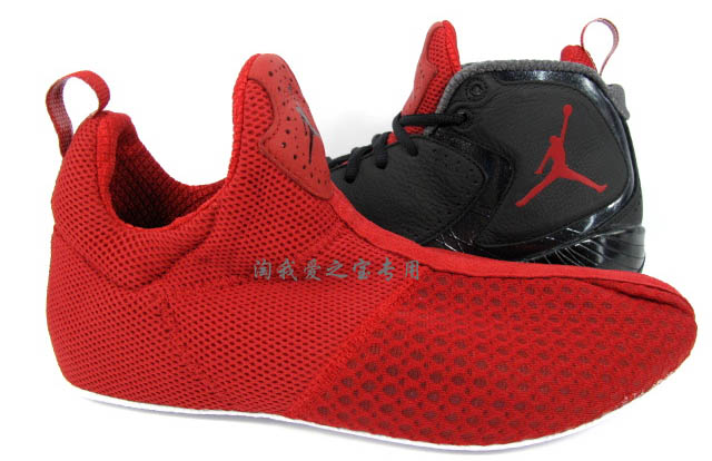Air Jordan 2012 Black Red Grey 508318-010 (11)