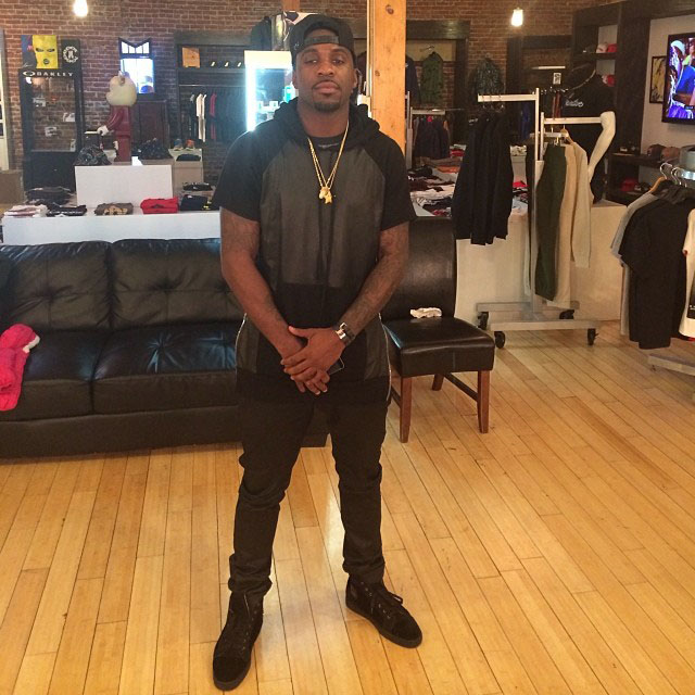 Ty Lawson wearing Christian Louboutin Louis Flat Sneakers