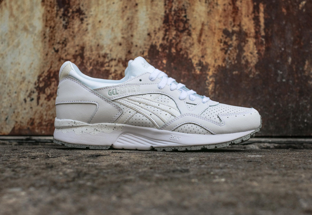Asics Got a Little Cement on This White Gel-Lyte V  ffbc59a9c