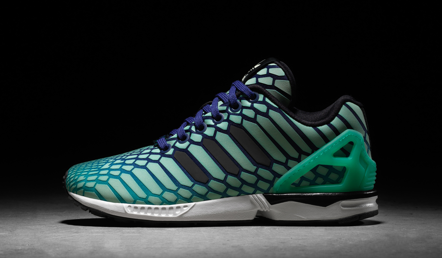 Adidas Flux Glow In The Dark