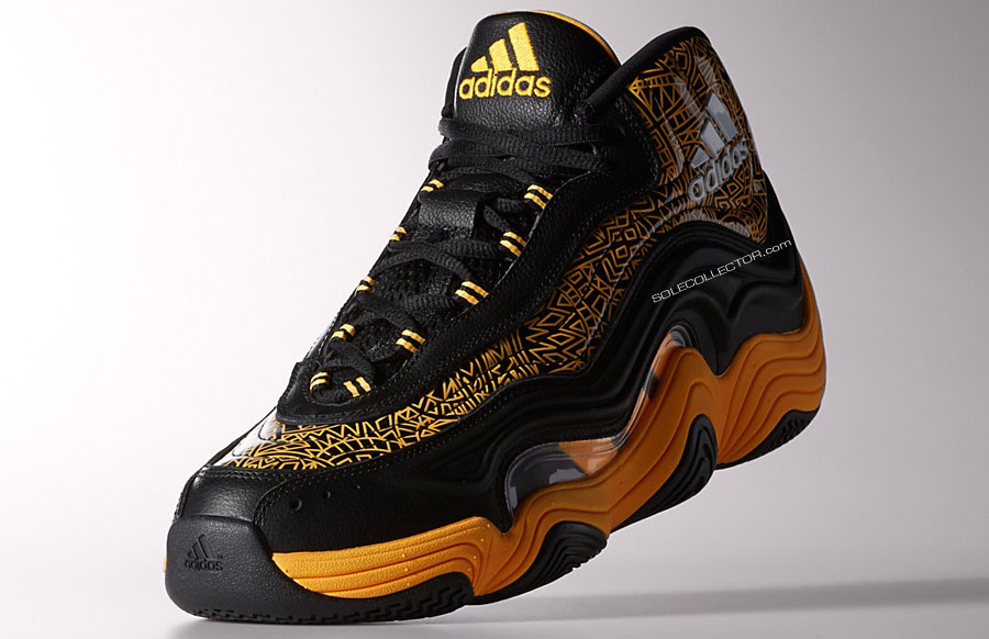 adidas Crazy 2 II KB8 Black/Yellow (4)