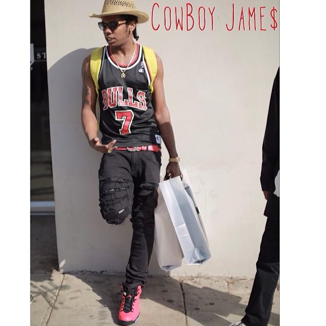b505ea2a591 ... coupon code for trinidad james wearing air jordan 6 retro infrared 23  4654f b71d9