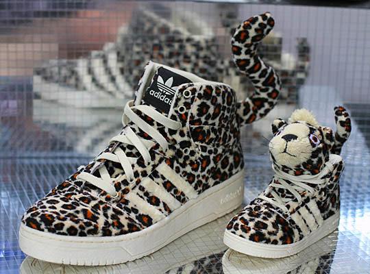 new style d52a5 ad042 adidas Originals by Originals Jeremy Scott Leopard