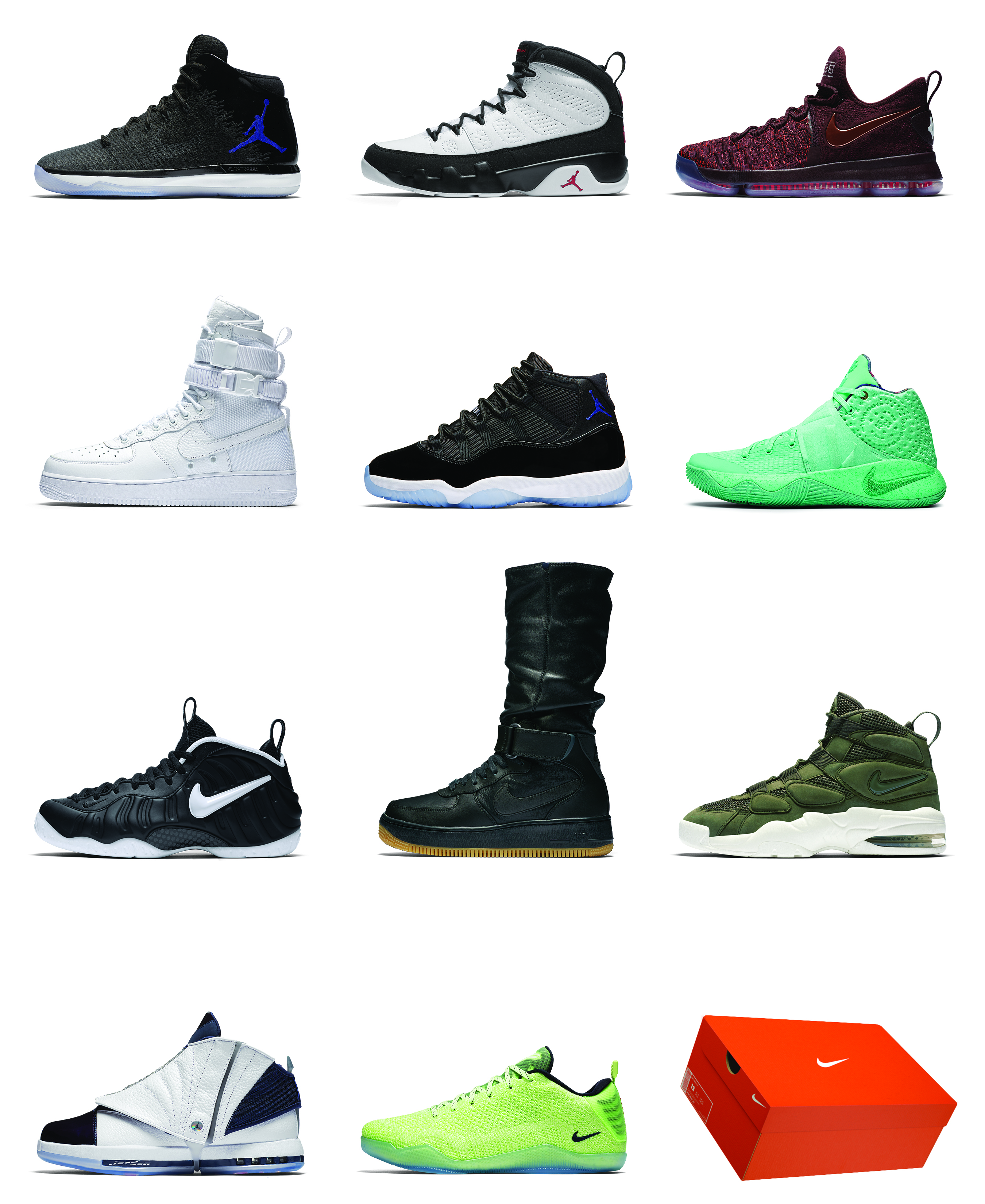 Nike Holiday Sneaker Releases