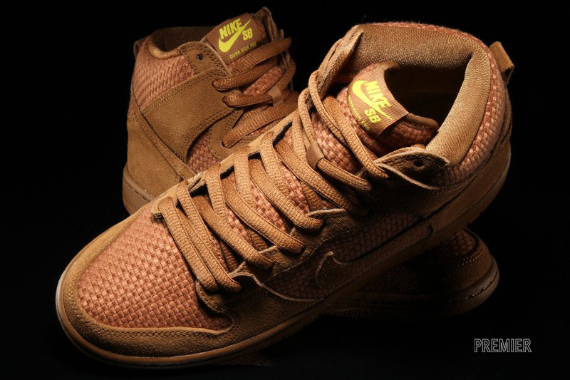 separation shoes 72b9d d787b Nike SB Dunk High Brown Ale 313171-227 (5)