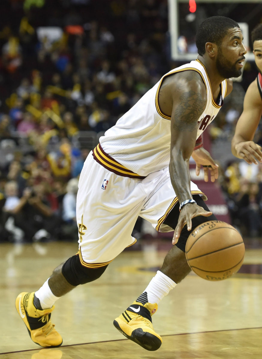 Kyrie Irving Wears School Bus Nike Kyrie 2 Sole Collector