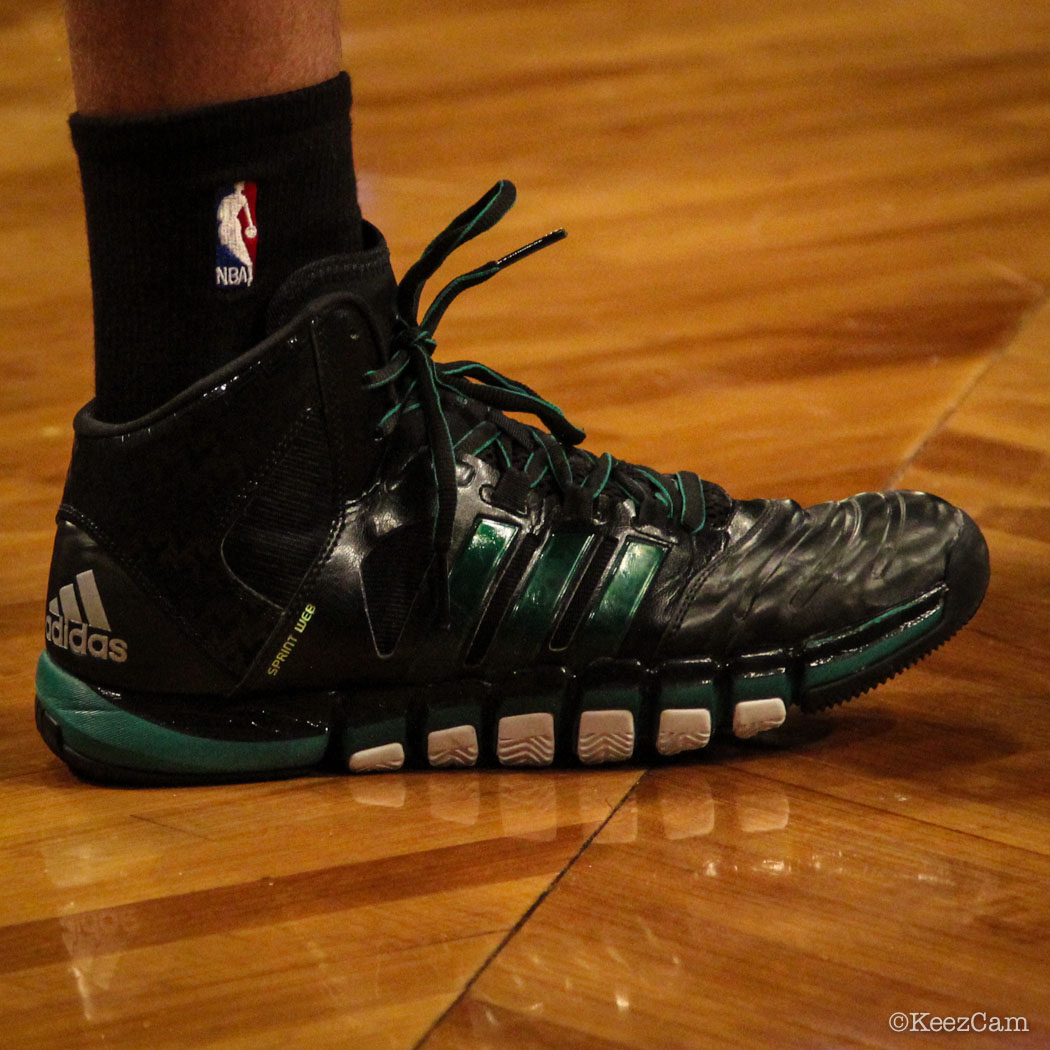 #SoleWatch // Up Close At Barclays for Nets vs Celtics - Avery Bradley wearing adidas Crazyghost