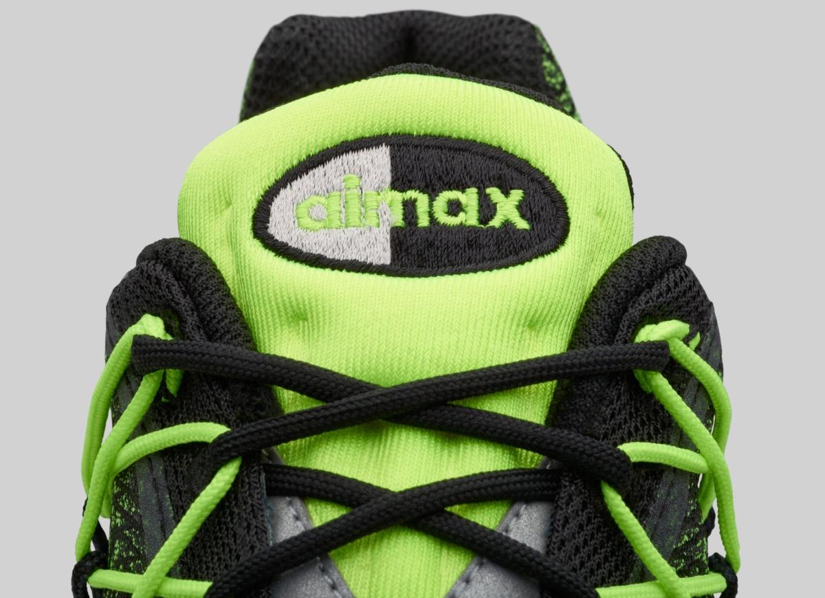 nike air max 95 ultra jacquard groen
