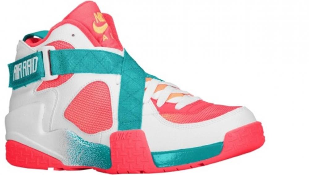 Nike Air Raid BRZ White/Atomic Mango-Turbo Green-Laser Crimson