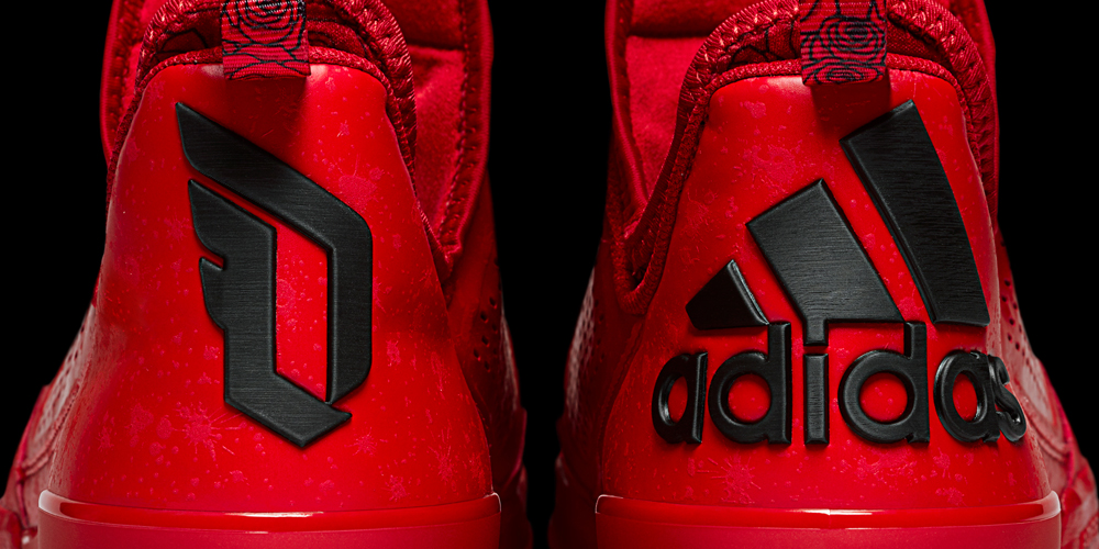 official photos 85d6c f4c6f adidas D Lillard 1 Rose City