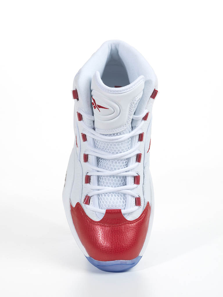 Reebok Question White Red 2012 Official Allen Iverson Shoes (4)