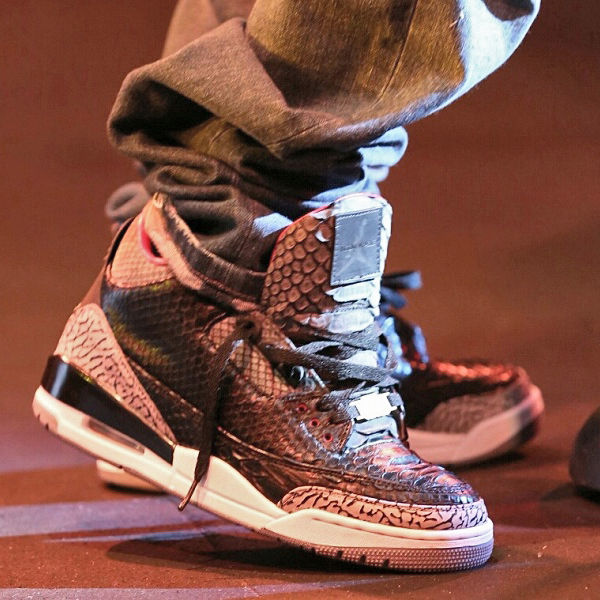 "Air Jordan III 3 Retro ""Black Python"" by JBF Customs (8)"