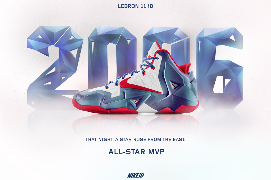 NIKEiD Concept // LeBron 11 'All-Star MVP' 2006 (1)