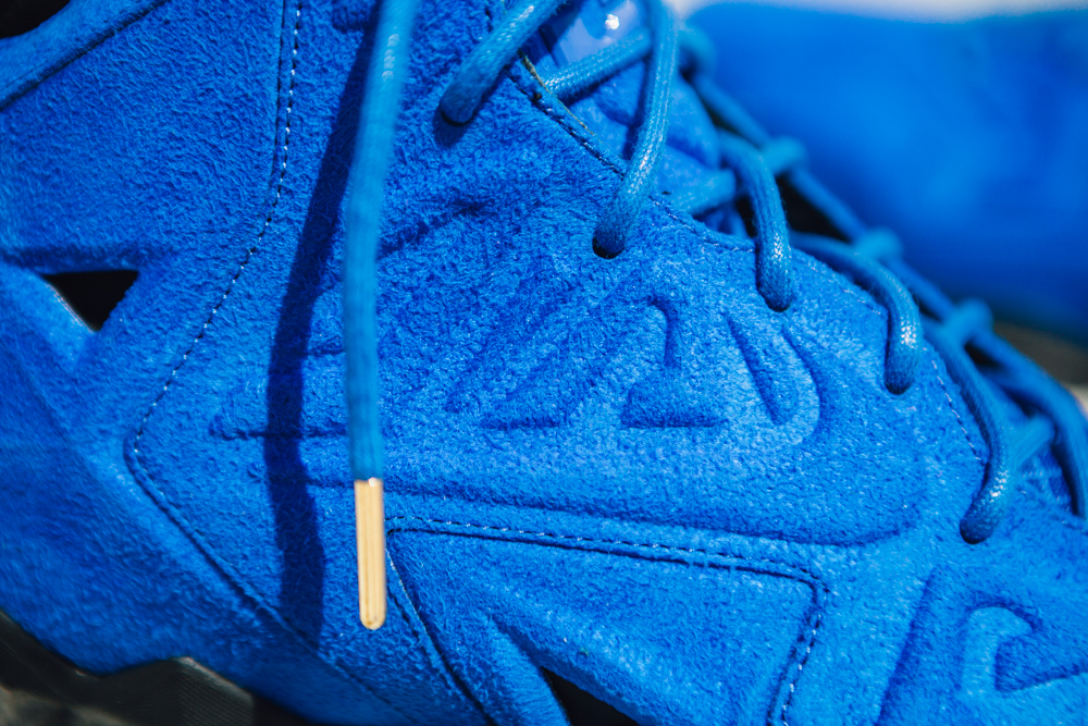 Detailed Look at The 'Blue Suede' Nike LeBron XI EXT | Sole Collector
