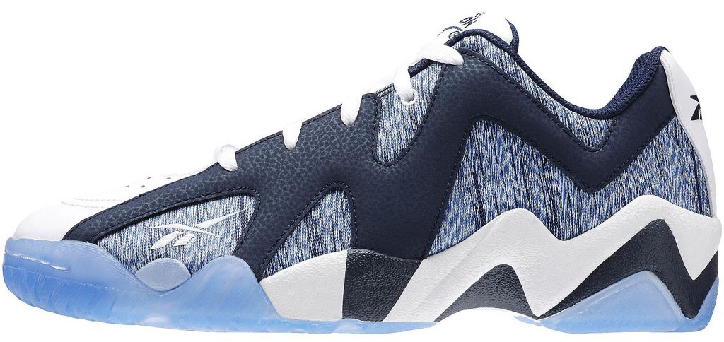 a534fe6069ca Reebok Kamikaze 2 Low Navy Blue White (2)