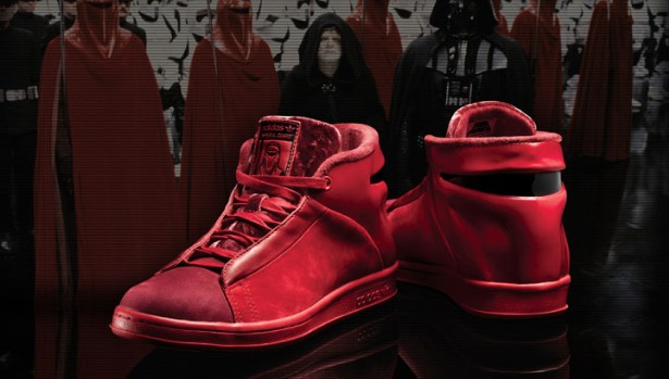 "adidas Stan Smith 80s Mid x Star Wars Collection - ""Imperial Royal Guard"""