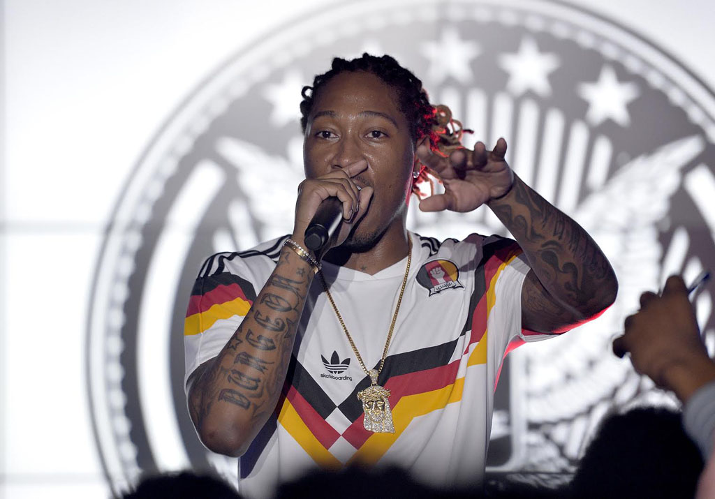 Future Performs for High School Basketball Stars at adidas Unrivaled (5)