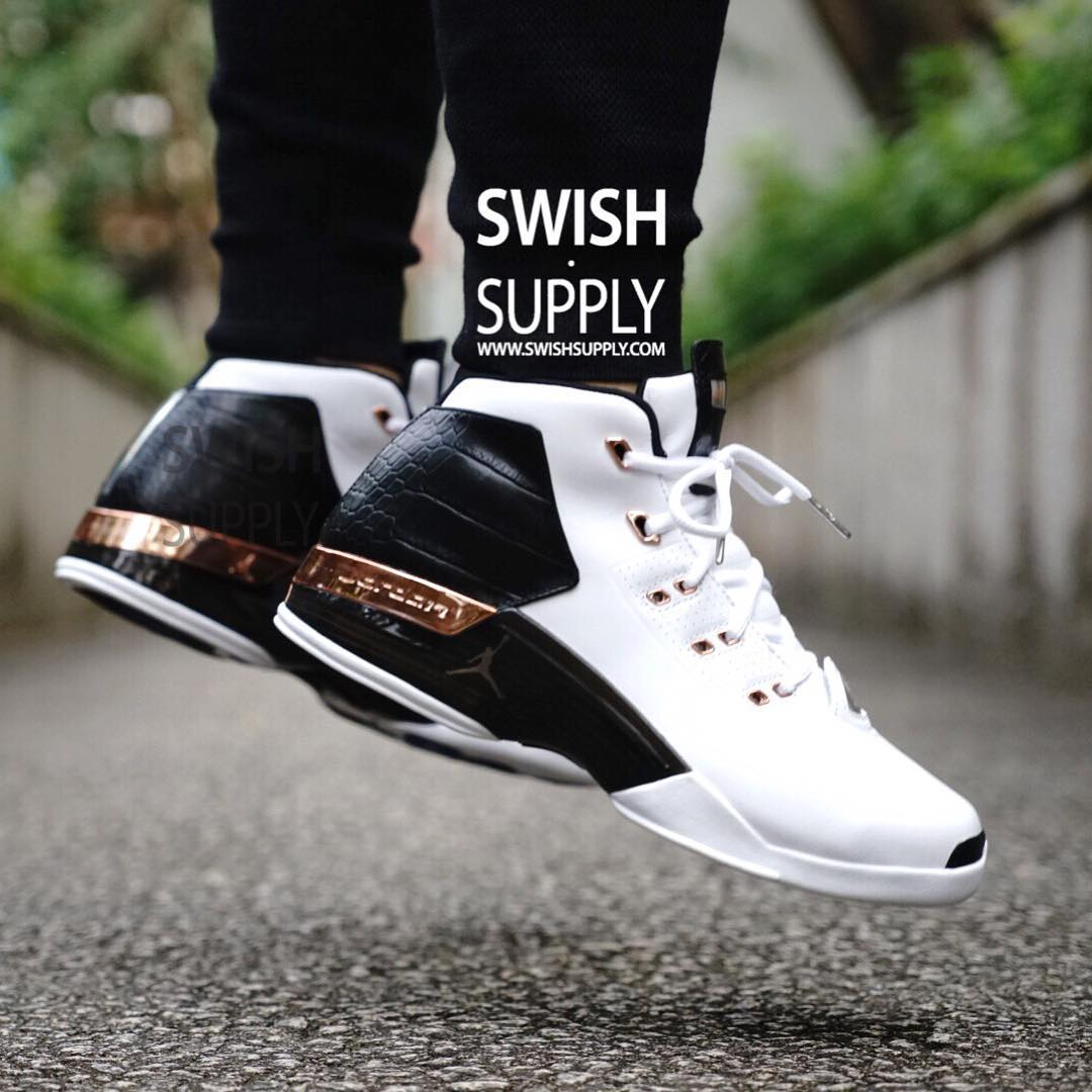 1e2fc030feea35 Air Jordan 17 Copper On-Foot 832816-122 (5)