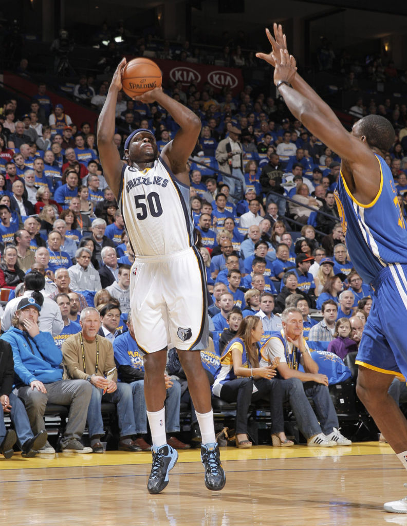 Nike Air Max Hyperguard Up Zach Randolph Away PE (2)