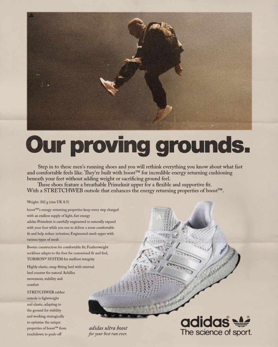8707119b45848 Here s How Kanye West Would Have Sold Sneakers for adidas in Decades ...