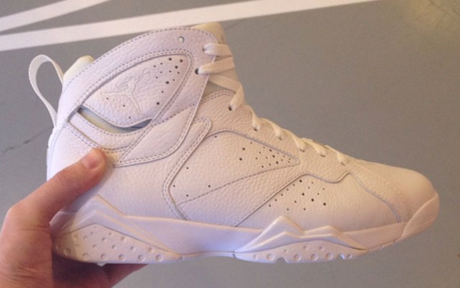 Air Jordan 7 White Anniversary Sample (2010)