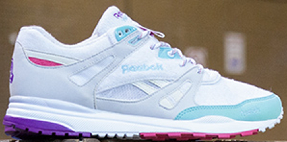 Reebok Ventilator White/Crystal Blue-Pink