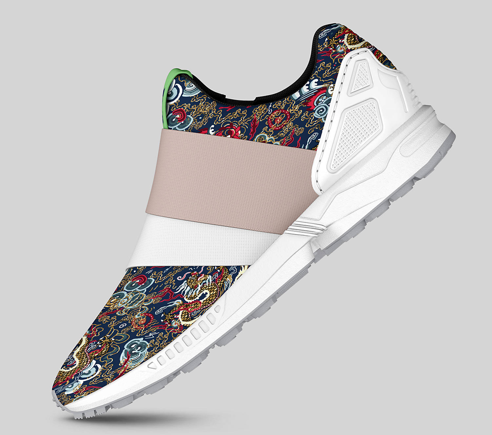 Adidas Zx Flux Custom Made