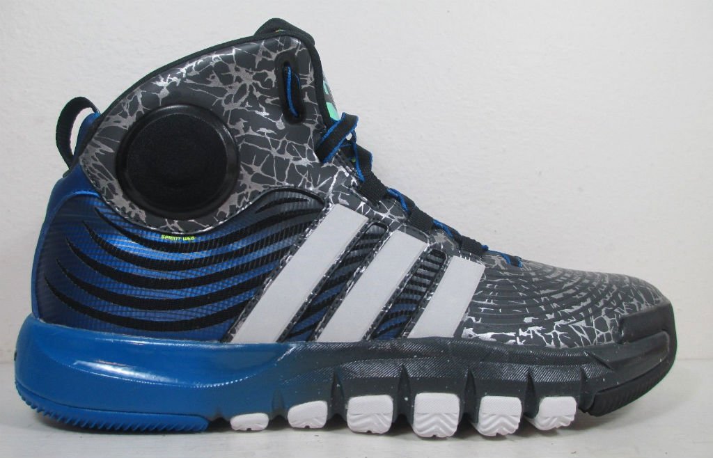 adidas D Howard 4 - Grey/Blue Sample (1)