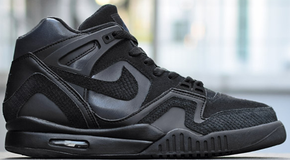 Nike Air Tech Challenge II Black/Black-Obsidian