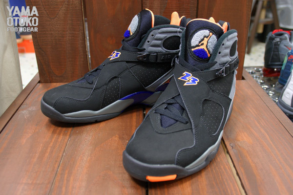 073ab537f47d3e 05 18 13 Air Jordan Retro 8 305381-043 Black Bright Citrus-Cool Grey-Deep  Royal Blue  160.00