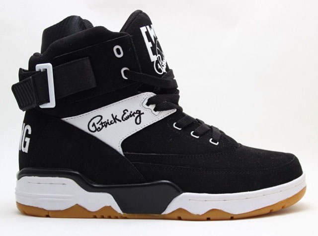 Ewing 33 Hi Black/White-Gum