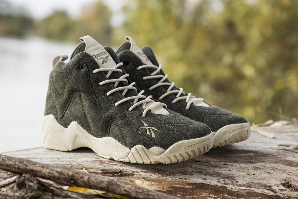 Top 10 Collaborations of October 2013 SNS x Reebok Kamikaze II Herringbone