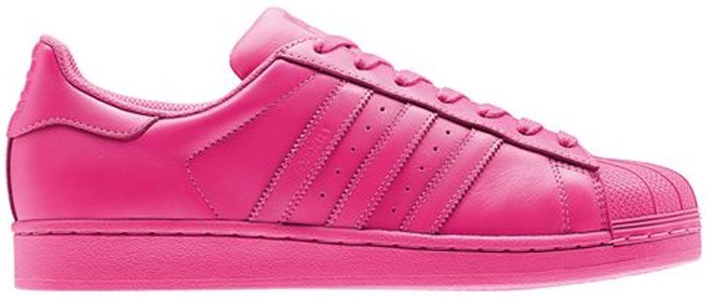 adidas Superstar Semi Solar Pink/Semi Solar Pink-Semi Solar Pink ...