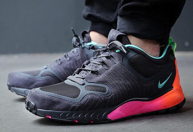 Nike Zoom Talaria 2014 Anthracite/Hyper Turquoise 684757-001 (1)
