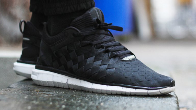 Nike Free OG Breeze Black/Clear Grey/White/Chilling Red Shoes
