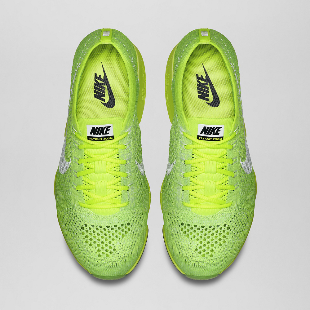 cheaper 8a540 3f3f9 Nike Womens Zoom Flyknit Agility Color VoltWhite-Electric Green-Vapor Green  Style 698616- ...