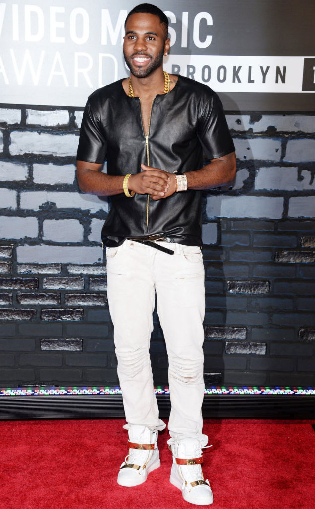 Jason Derulo wearing Giuseppe Zanotti Homme Double Zip Sneakers