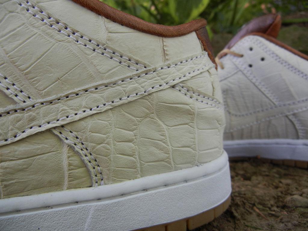 Nike Dunk Low SB 'Ivory Gator' by JBF Customs (4)