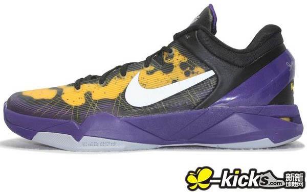 Nike Kobe VII 7 Poison Dart Frog Lakers 488371-500 (1) a71dfd718